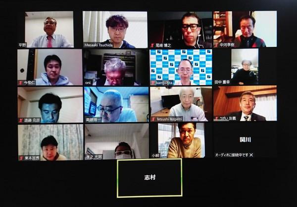 2021年 第2回理事会をweb会議にて開催しました