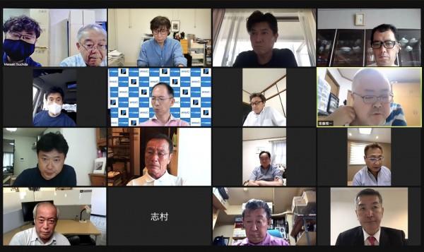 2021年 第5回理事会をweb会議にて開催しました
