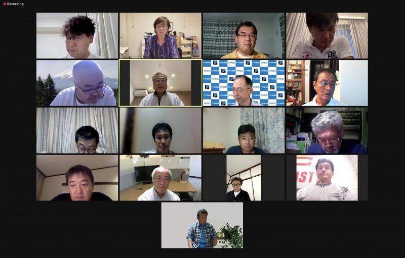 2021年 第7回理事会をweb会議にて開催しました