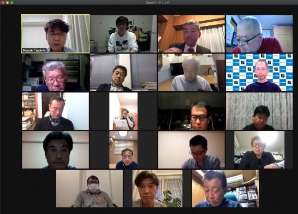 2021年 第3回理事会をweb会議にて開催しました