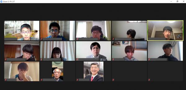 2021年4月 総明会クラス幹事交流会を開催しました。